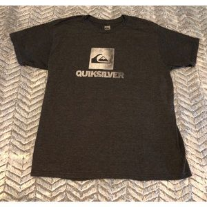 Quicksilver Mens Graphic Tee Size Large